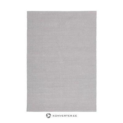 Tummanharmaa matto (agneta)