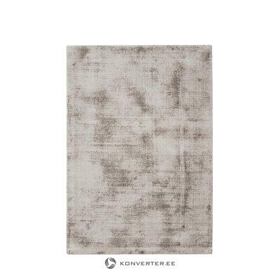 Pilkai rudas viskozinis kilimas (jane) 160x230cm