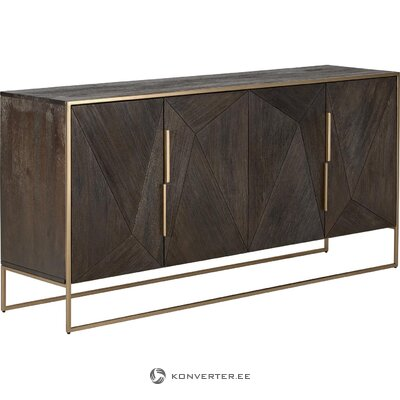 Brown-golden chest of drawers (harry)