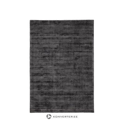 Antracitas-juodas viskozinis kilimas (jane) 160x230cm