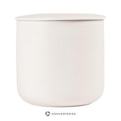 Aromātiska sveces baltā tēja un parastā (viktoriāņu)