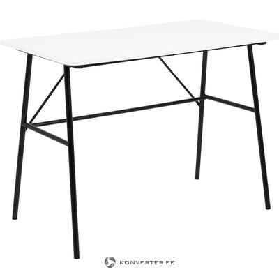 Balta melna galda pascal (actona) (ar trūkumu zāles paraugs)
