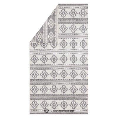 Pelēks-krēmveida paklājs (freundin) (kaste, vesela)