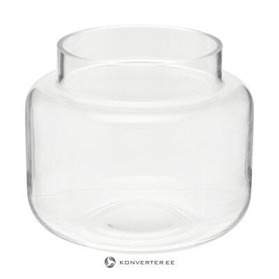 Glass flower vase (lasse)
