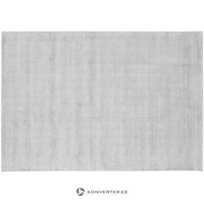 Sidabro pilkos spalvos viskozinis kilimas (jane) 160x230cm