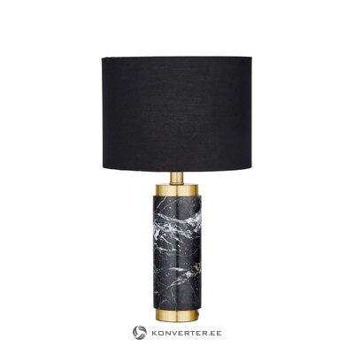 Melna un zelta galda lampa (miranda)
