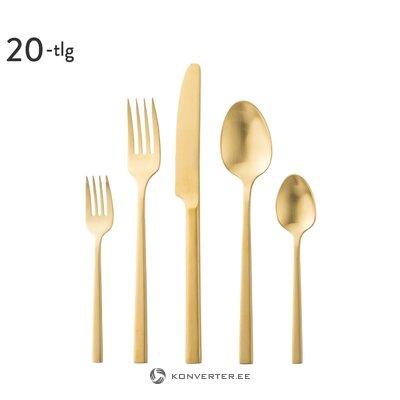 Kullavärvi Söögiriistade Komplekt