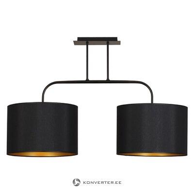 Черный потолочный светильник (алиса)