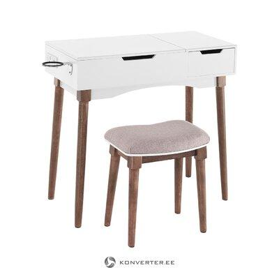 Tualetes galdiņš ar krēsla kārbu (tomasucci)