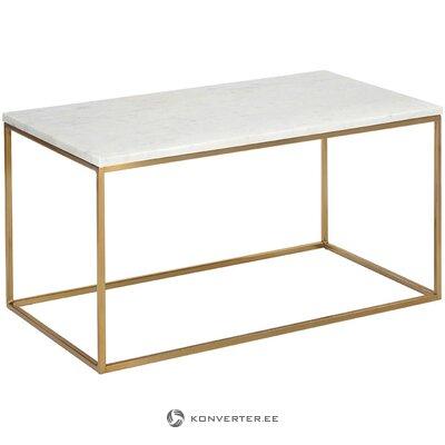 Marmorinen sohvapöytä (alys) (salinäyte pieni kauneusvirhe)