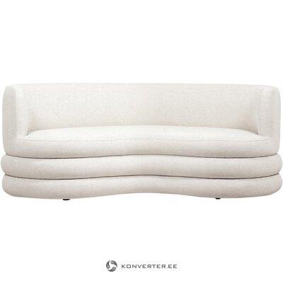 Light beige design sofa (solomon)