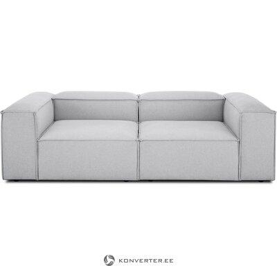Light gray modular sofa (in flight)