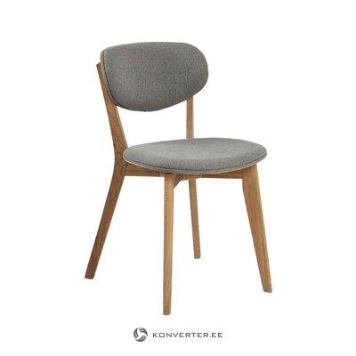 Серо-коричневый стул минск (актона) (мелкие недочеты холл пробы)