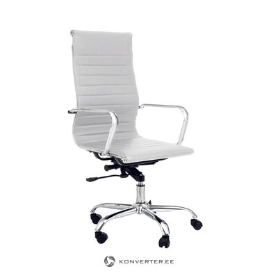 Белый офисный стул linus (tomasucci) (образец холла небольшой недостаток красоты)