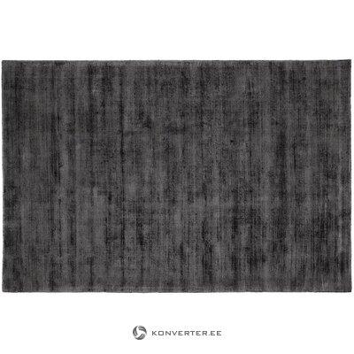Antracitas-juodas viskozinis kilimas (jane) 200x300cm