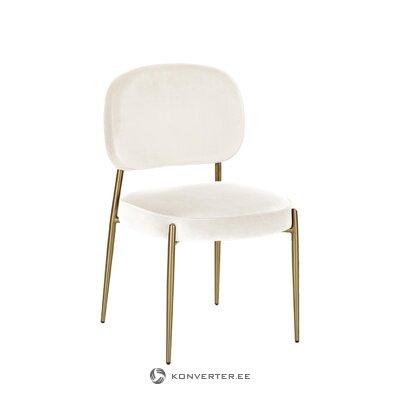 White-gold chair (viggo) (broken hall sample)