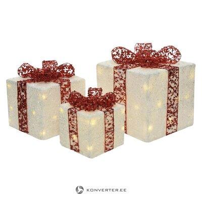 LED Dekoratiiv Valgustite Komplekt 3-Osaline Dina (Kaemingk)