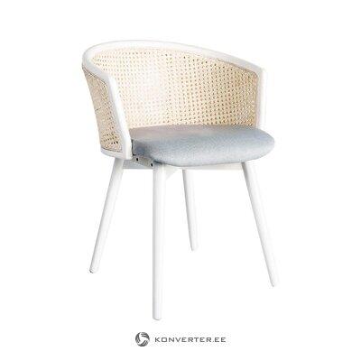 Резчик стульев серо-белый (feeldesign) (весь образец зала)