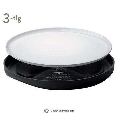 Dzesēšanas plāksnes komplekts 3 daļās (ēdienkarte) (viss zāles paraugs)