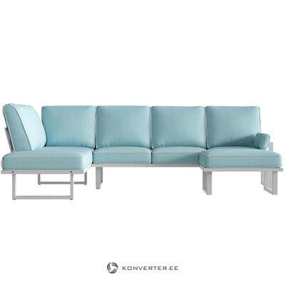 Dārza stūra dīvāns Angie (sols un bergs)