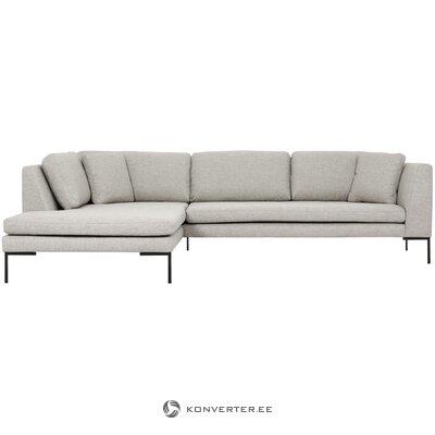 Large beige corner sofa emma
