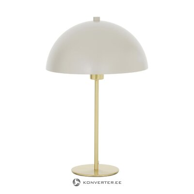 Beige-gold table lamp (matilda)