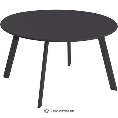Black garden table marzia (ldk garden)