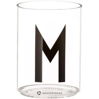 Drinking glass buchstaben (design letters)