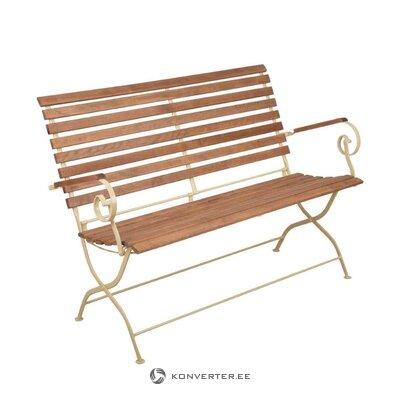 Складная садовая скамейка adele (дизайн esschert)