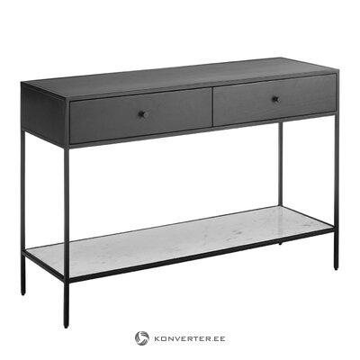 Black console table lenny