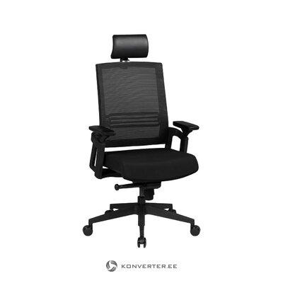 Juoda biuro kėdės kupidonas (Zuiver)