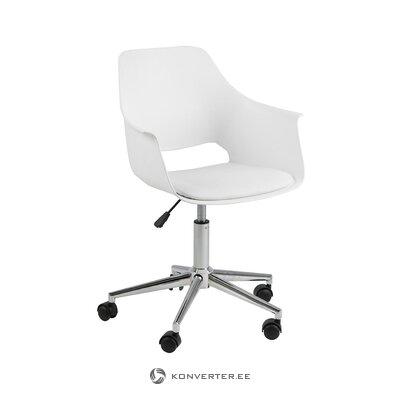 Baltoji biuro kėdė Alice (Actona)