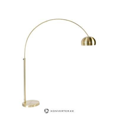 Golden floor lamp bow (zuiver)