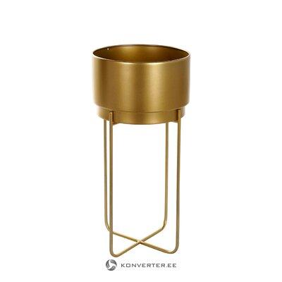 Golden flower tray carlo (detall item)