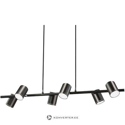 Черный потолочный светильник (эмма)