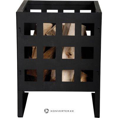 Черная деревянная корзина с гранулами (дизайн Esschert)