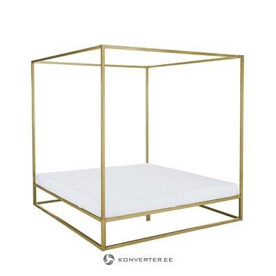 Золотая кровать с балдахином (belle)