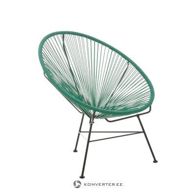 Кресло зеленого дизайна (бахия)