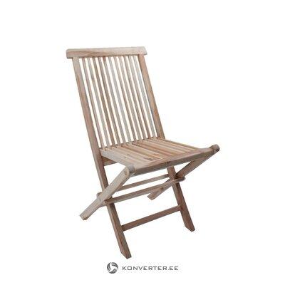 Sulankstoma tikmedžio kėdė (java)