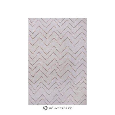 Harmaa kuvioitu matto merlin (valkoinen etiketti)