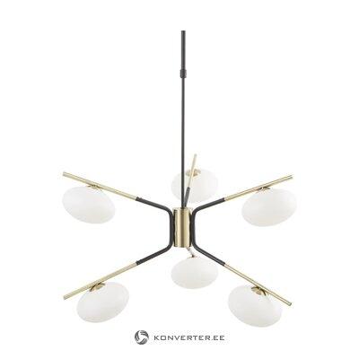 Подвесной светильник черно-золотой (гуна)