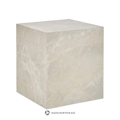 Smėlio spalvos marmurinis žurnalinis staliukas (lesley)