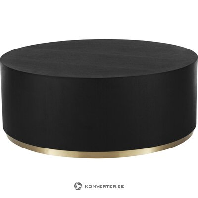 Black and gold coffee table (clarice) (copy)