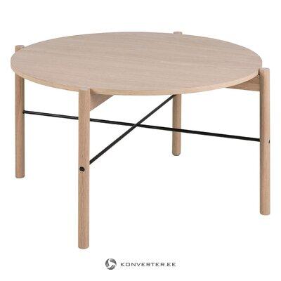 Light brown coffee table leka (actona)