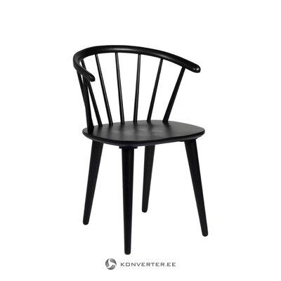 Juoda kėdė (carmen) (su grožio defektais salės pavyzdys)
