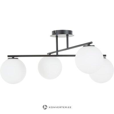 Черно-белый потолочный светильник (атланта)