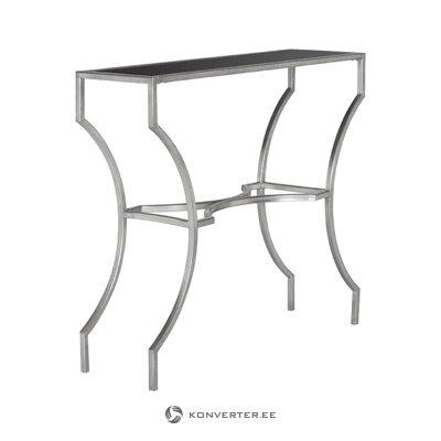 Серебряный консольный стол graham (safavieh)