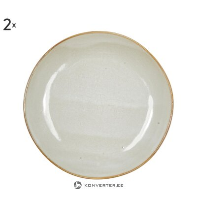 Käsitsi valmistatud taldrikud (Thalia) 2-osaline