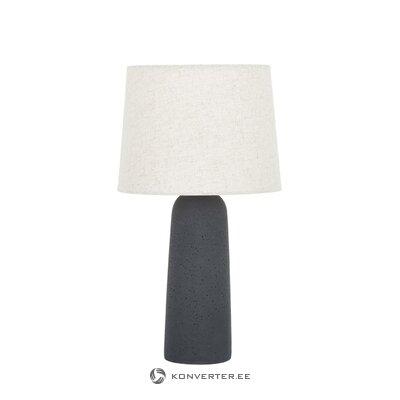 Настольная лампа бежево-темно-серая (kaya)