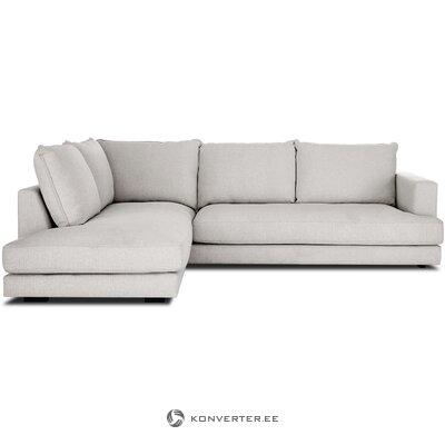 Gray large corner sofa (tribeca)